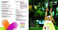 Flyer Fest zum Weltkindertag